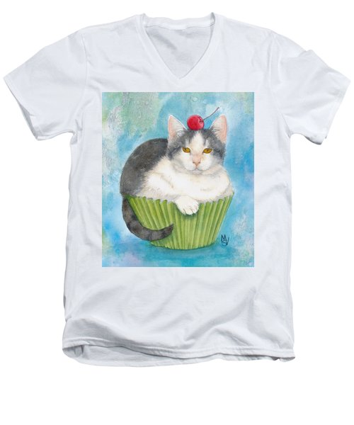 Muffin Of Animal Rescue And Foster Men's V-Neck T-Shirt