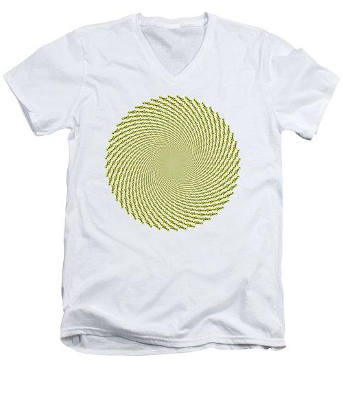 Mullein Vortex Men's V-Neck T-Shirt