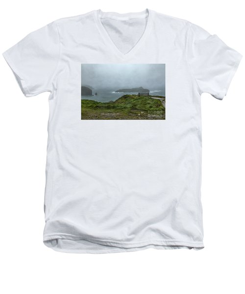 Mullion Cove Men's V-Neck T-Shirt