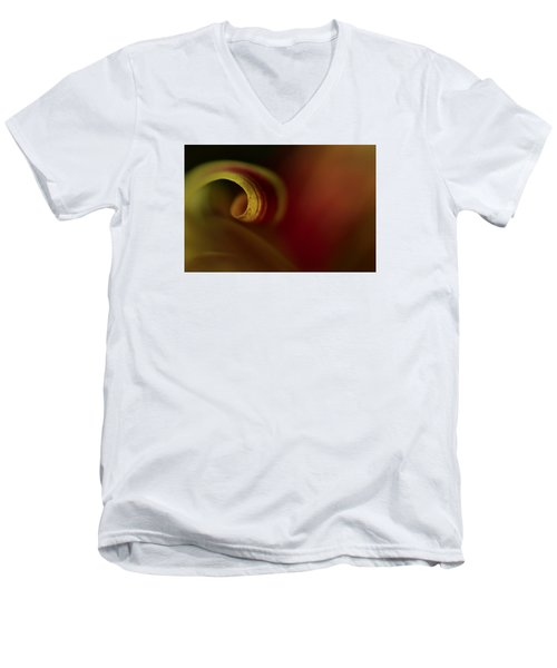 Mum Curl Abstract Men's V-Neck T-Shirt