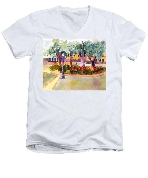 Munn Park, Lakeland, Fl Men's V-Neck T-Shirt