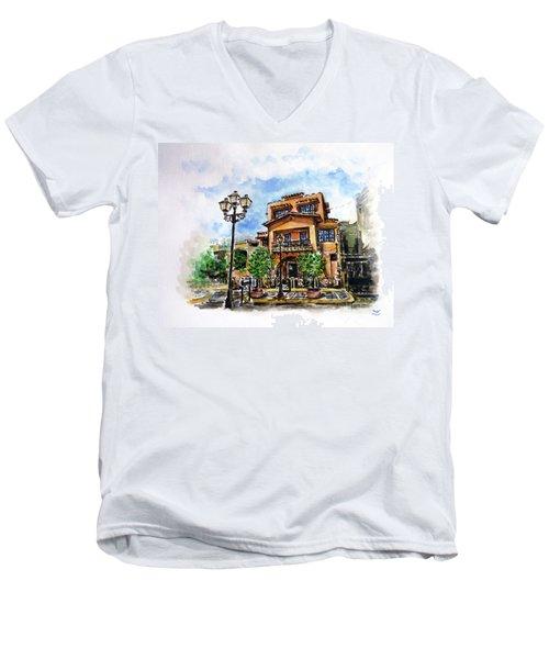 Museo De Archivo E Historia De Bayamon Men's V-Neck T-Shirt