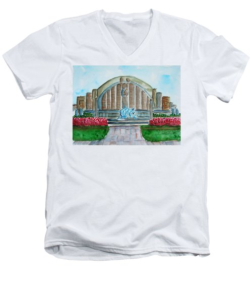 Museum Center Men's V-Neck T-Shirt