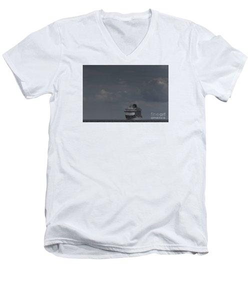 Mv Britannia Men's V-Neck T-Shirt