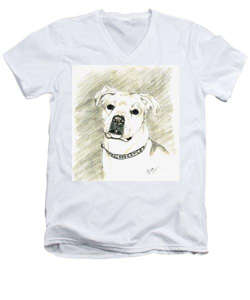 My Bella Men's V-Neck T-Shirt