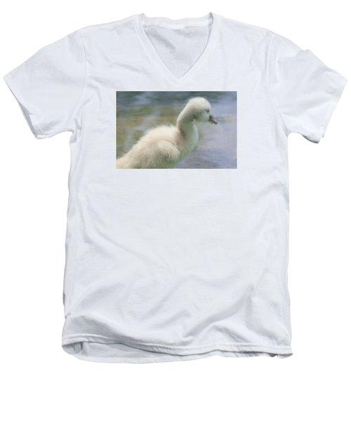 My God Is Gracious Men's V-Neck T-Shirt by The Art Of Marilyn Ridoutt-Greene