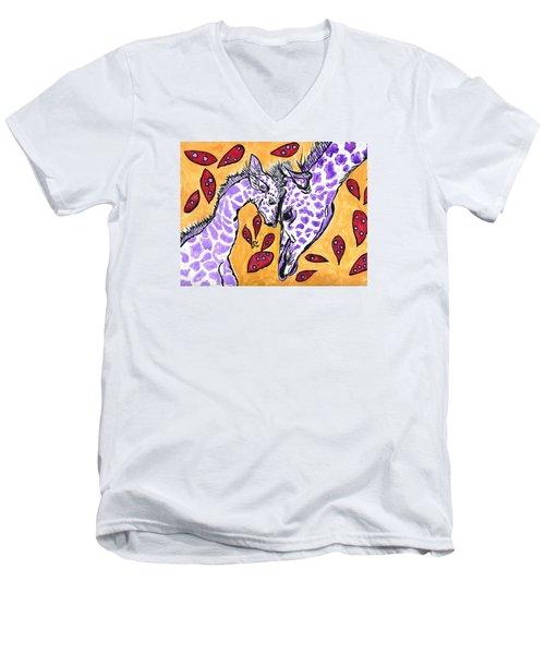 My Heart Belongs To You Men's V-Neck T-Shirt