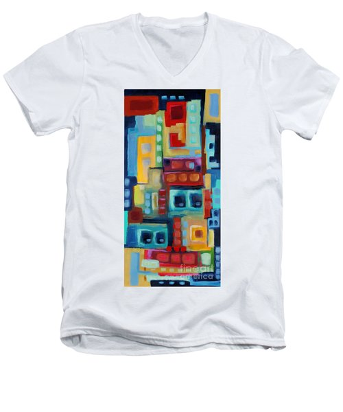 My Jazz N Blues 3 Men's V-Neck T-Shirt