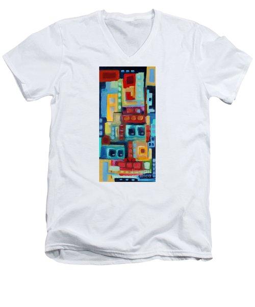 My Jazz N Blues 3 Men's V-Neck T-Shirt