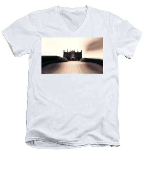 Men's V-Neck T-Shirt featuring the photograph Mystery by Keith Elliott