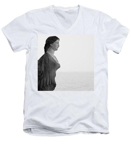 Nantucket Figurehead Men's V-Neck T-Shirt