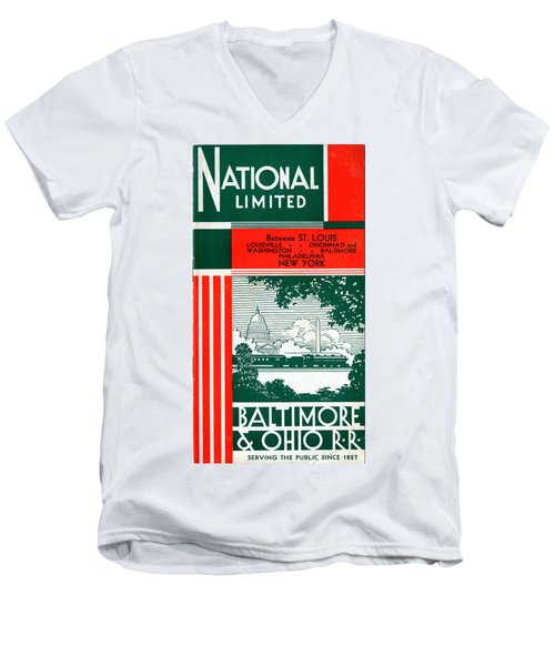 National Limited Men's V-Neck T-Shirt