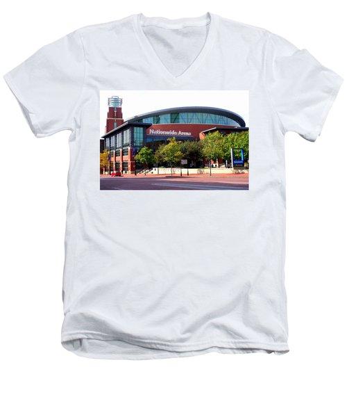 Nationwide Arena Men's V-Neck T-Shirt