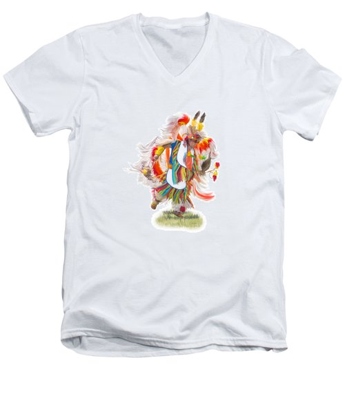 Native Rhythm Men's V-Neck T-Shirt
