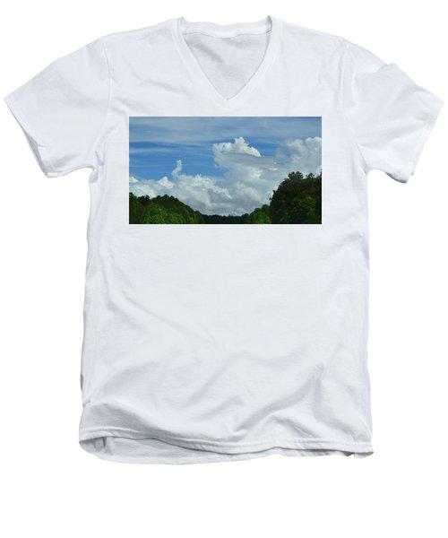 Natural Clouds Men's V-Neck T-Shirt