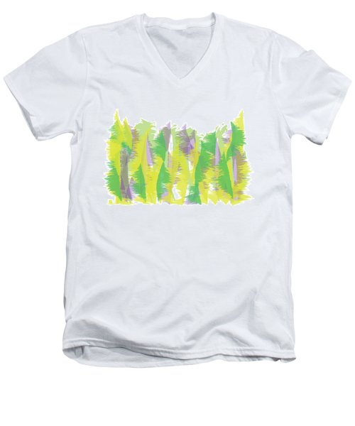 Nature - Abstract Men's V-Neck T-Shirt