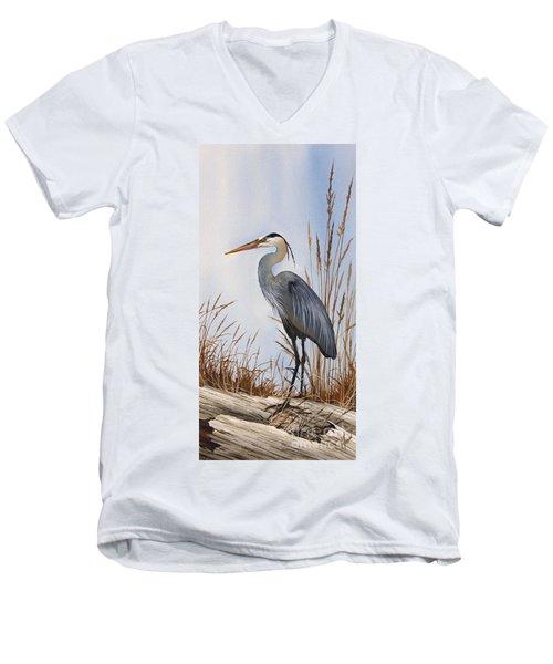 Nature's Gentle Beauty Men's V-Neck T-Shirt