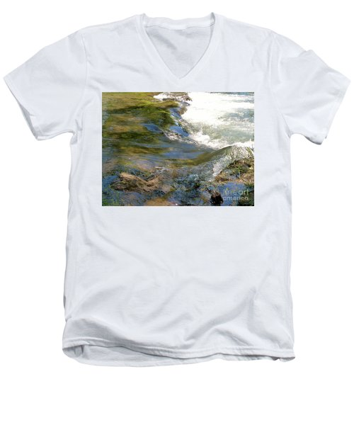 Nature's Magic Men's V-Neck T-Shirt