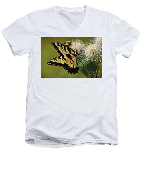 Natures Pin Cushion Men's V-Neck T-Shirt