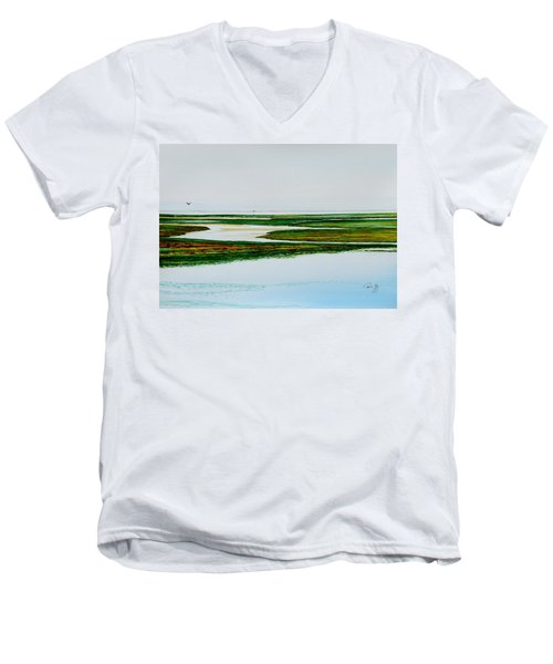 Nauset Osprey Men's V-Neck T-Shirt