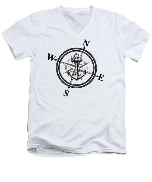 Nautica Bw Men's V-Neck T-Shirt