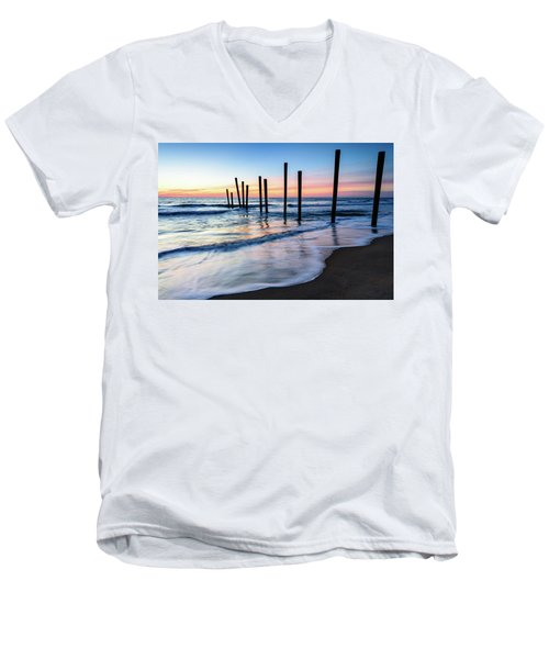Nautical Morning Men's V-Neck T-Shirt