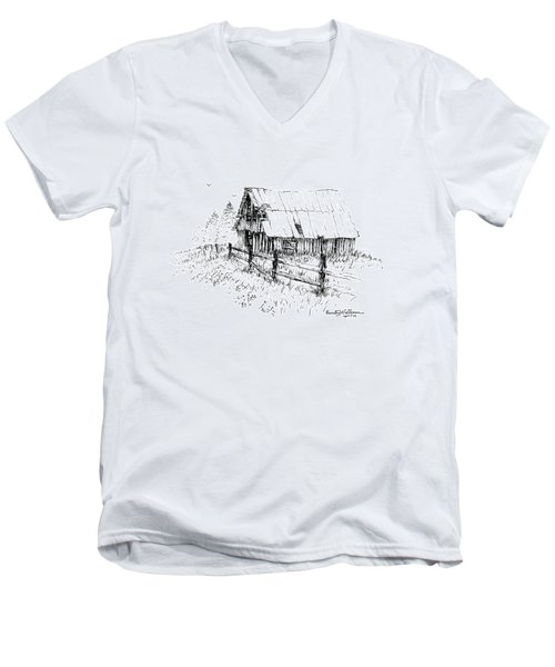 Need A Little Roof Repair Men's V-Neck T-Shirt