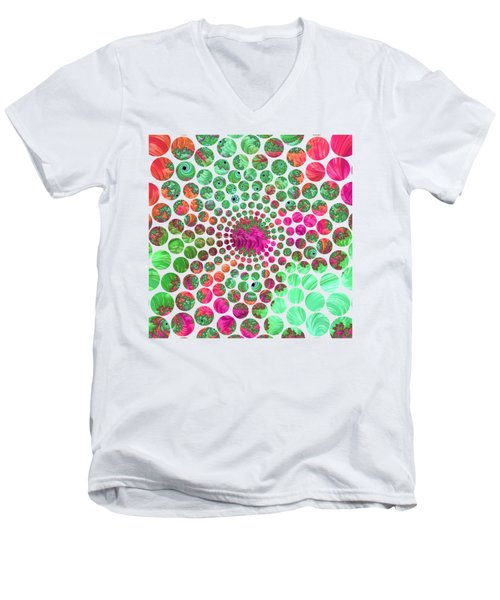 Neon Dream Men's V-Neck T-Shirt