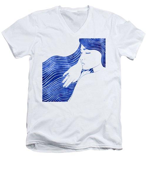Nereeid Xxv Men's V-Neck T-Shirt
