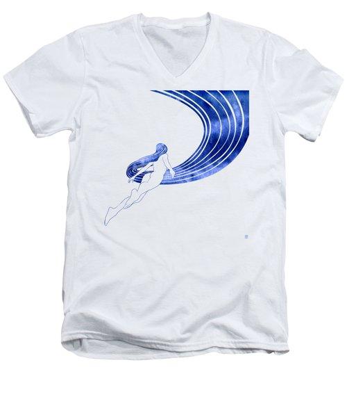 Nereid Xiii Men's V-Neck T-Shirt