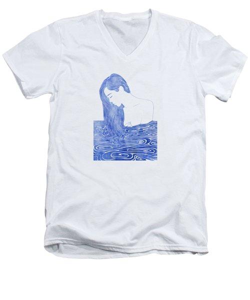 Nereid Xlvii Men's V-Neck T-Shirt
