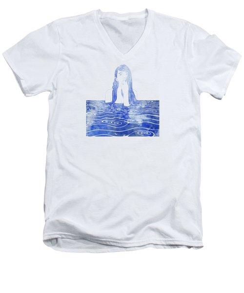 Nereid Xxxvi Men's V-Neck T-Shirt