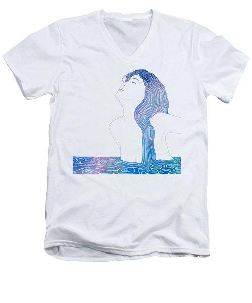 Nereid Xxxvii Men's V-Neck T-Shirt