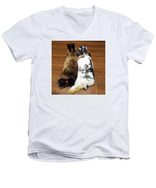 Neruusa Men's V-Neck T-Shirt by Nao Yos