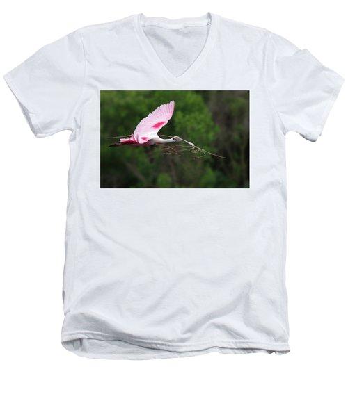 Nestorations. Men's V-Neck T-Shirt