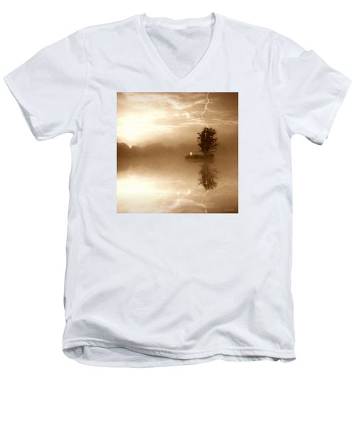 Never Forget Me Men's V-Neck T-Shirt