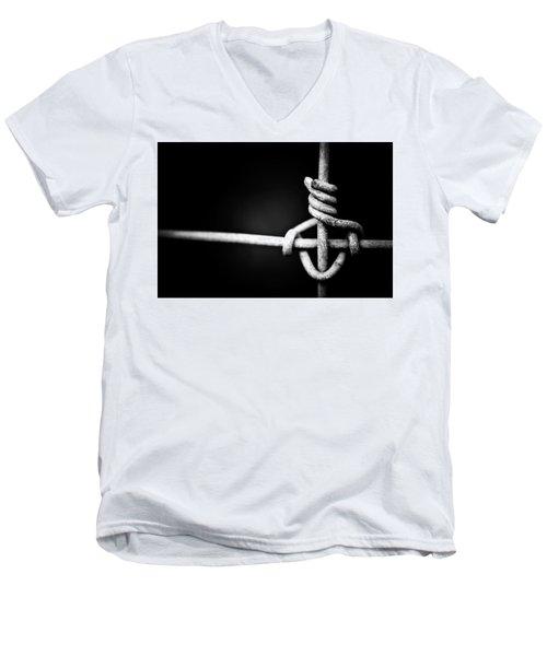 Never Let Me Go Men's V-Neck T-Shirt