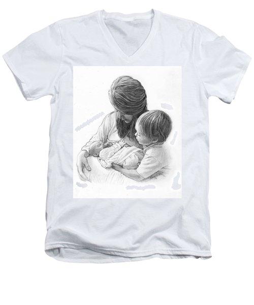 New Arrival Men's V-Neck T-Shirt