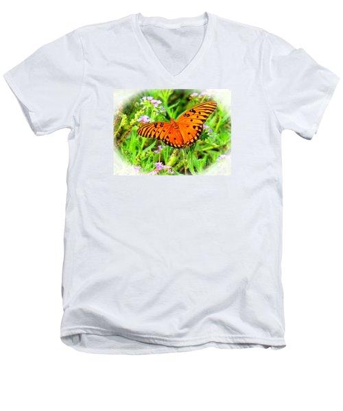 New Beginnings By Matthew Men's V-Neck T-Shirt