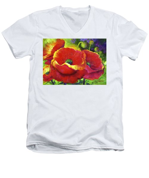 New Beginnings Men's V-Neck T-Shirt