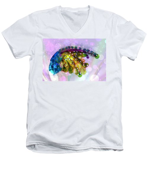 New Composition  Men's V-Neck T-Shirt by Don Wright