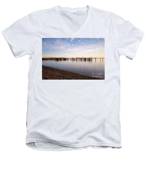 New Day In The Bay Men's V-Neck T-Shirt