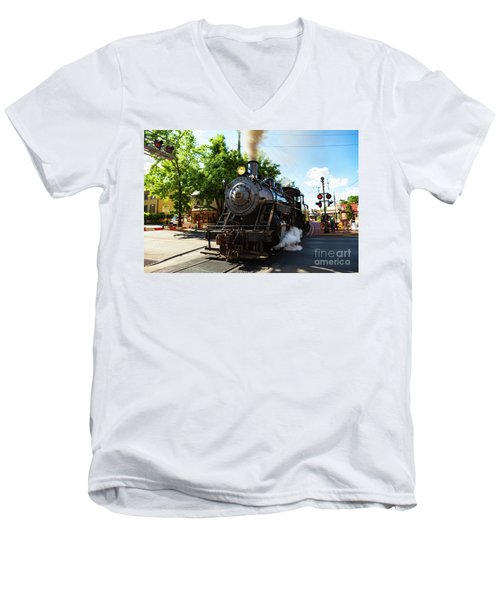New Hope And Ivyland Railroad  Men's V-Neck T-Shirt