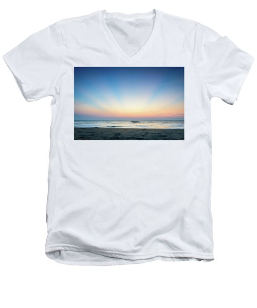 New Horizon Men's V-Neck T-Shirt