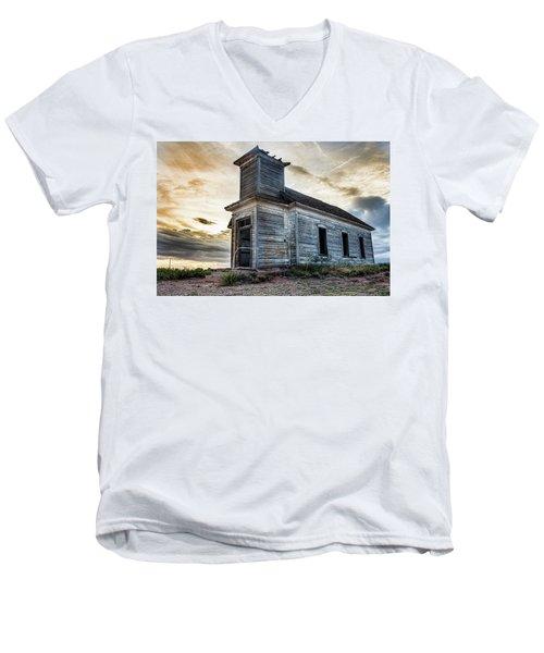 New Mexico Church #3 Men's V-Neck T-Shirt