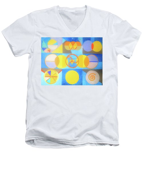 Geometrica 1 Men's V-Neck T-Shirt