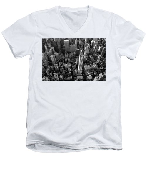 New York, New York 5 Men's V-Neck T-Shirt