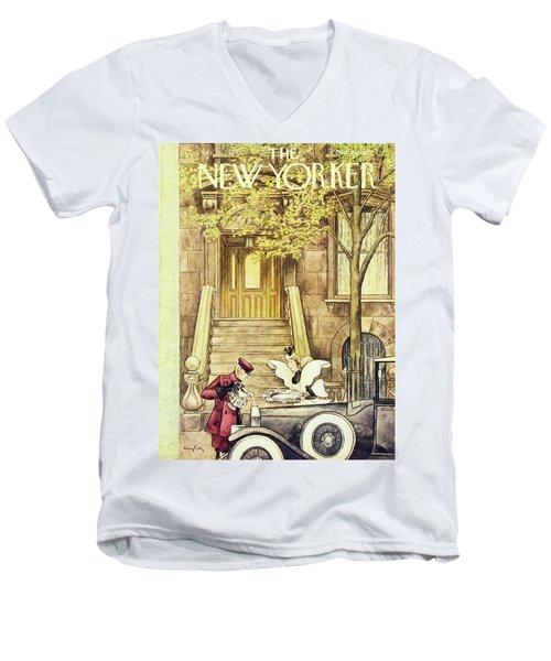 New Yorker May 16 1953 Men's V-Neck T-Shirt