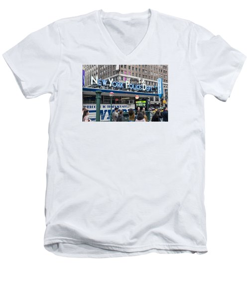 New York's Finest Men's V-Neck T-Shirt