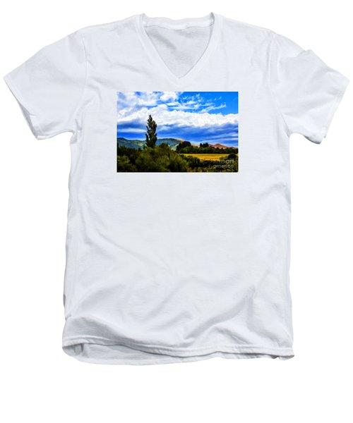 New Zealand Legacy Men's V-Neck T-Shirt